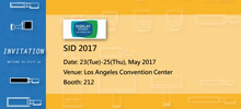 WiseChip Participates in 2017 SID DISPLAY WEEK - Booth No. 212