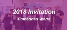WiseChip Participates in 2018 embeddedworld - Hall 1 /1-270